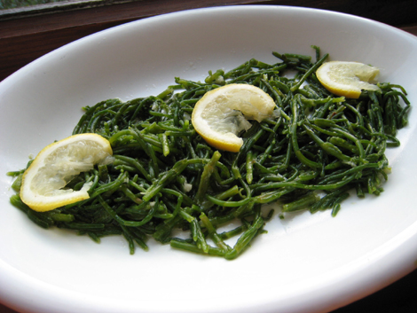 Samphire (with olive oil)